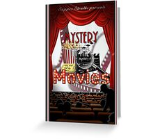 Mystery at the Movies Greeting Card