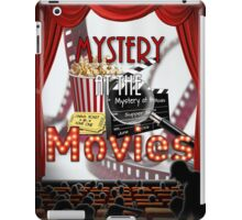 Mystery at the Movies iPad Case/Skin