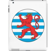 Luxembourg Air Force Roundel iPad Case/Skin