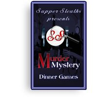 Supper Sleuths Canvas Print