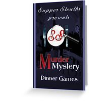 Supper Sleuths Greeting Card