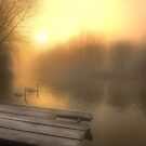 Stour Sunrise by AntonyB