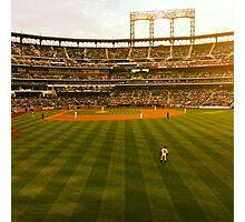 An Evening At The Ballpark Photographic Print