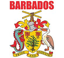 BARBADOS COAT OF ARMS Photographic Print