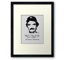8-Bit Magnum Framed Print