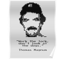 8-Bit Magnum Poster