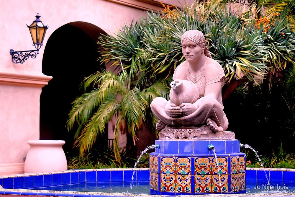 Prado Fountain at Balboa Park by Jo Nijenhuis