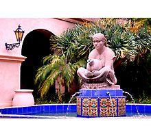 Prado Fountain at Balboa Park Photographic Print
