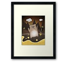 Too much honey to bear Framed Print
