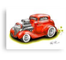 HOT ROD BEAST V8 CHEV STYLE Canvas Print