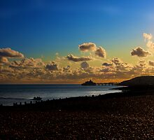 Eastbourne Pier - UK by Paul Morris
