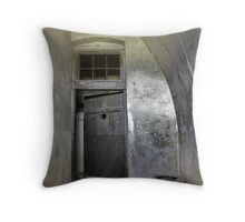reclusion cell in the gestapo camp in Terezin Throw Pillow