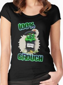 Don't Be A Grouch Women's Fitted Scoop T-Shirt