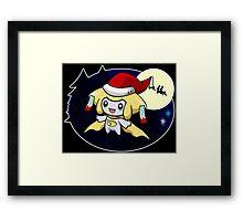 Sleepy Santa Framed Print
