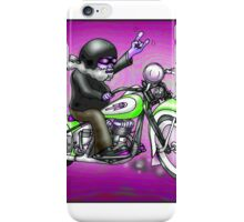 PSYCHEDELIC HARLEY STYLE MOTORCYCLE DESIGN iPhone Case/Skin