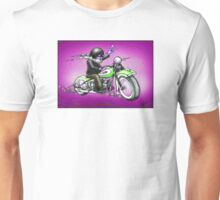 PSYCHEDELIC HARLEY STYLE MOTORCYCLE DESIGN Unisex T-Shirt