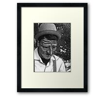 Sad Soul Framed Print