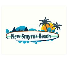 New Smyrna Beach - Florida. Art Print