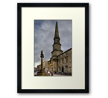 Mercat Cross and Guildhall Framed Print