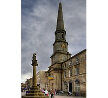 Mercat Cross and Guildhall Photographic Print