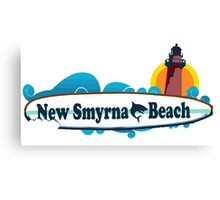 New Smyrna Beach - Florida. Canvas Print