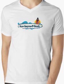 New Smyrna Beach - Florida. Mens V-Neck T-Shirt