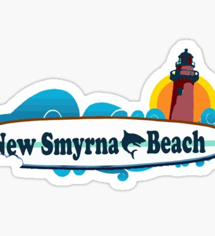 New Smyrna Beach - Florida. Sticker