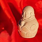 Chinese Buddha Statuette by Anna Lisa Yoder