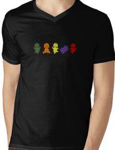 Jelly babies Mens V-Neck T-Shirt