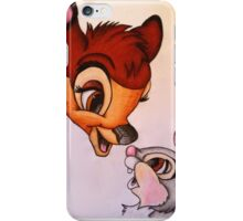Bambi and Thumper iPhone Case/Skin
