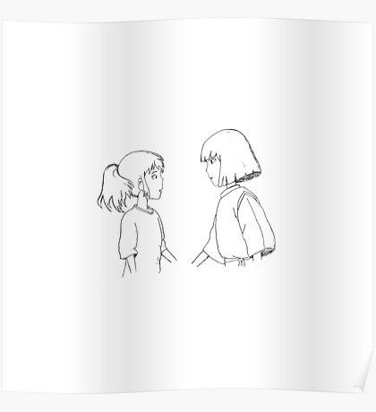 Haku + Chihiro Poster