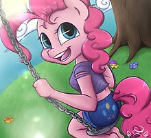 Pinkie's Swing by midnightpremier