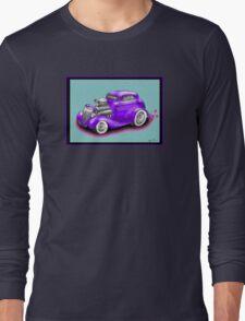 HOT ROD CHEV STYLE CAR Long Sleeve T-Shirt