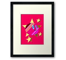 star kirby Framed Print