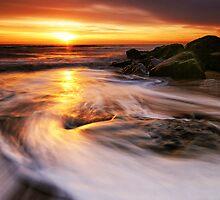Southwold Beach Suffolk 2. by Wayne Bradshaw