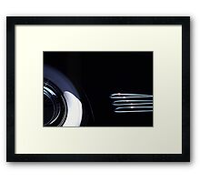 1938 Cadillac Limo Wheel  Framed Print