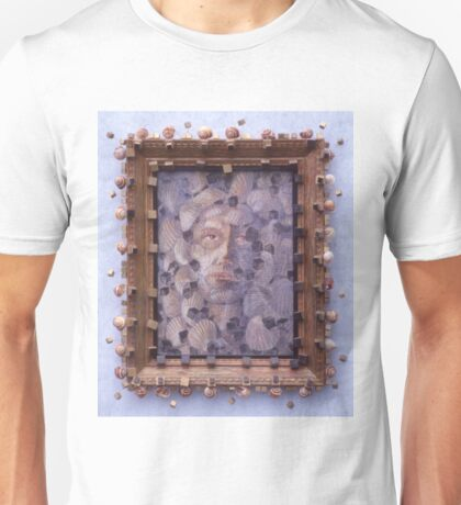 Inner Cacophany - Abstract Shells Into A Face Unisex T-Shirt