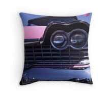 1959 Pink Plymouth Classic Throw Pillow