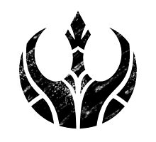 Rebels Segmented Logo (Black on White) by JoshBeck