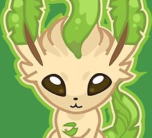 Leafeon by Eat Sleep Poke Repeat