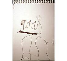 Petits Dessins Debiles - Small Weak Drawings#38 Photographic Print