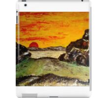 Sunset in the WIld West iPad Case/Skin