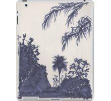 Venice beach Foliage - sunset walking street iPad Case/Skin