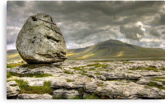 Ingleborough from Scales Moor by Steve  Liptrot