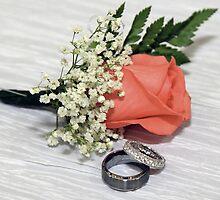 Rosebud and Rings by Debbie Moore