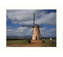 Windmill in the West Art Print