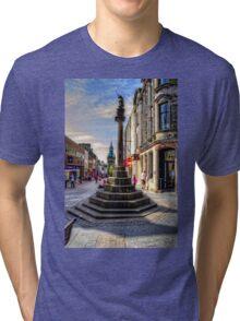 Dunfermline Mercat Cross Tri-blend T-Shirt