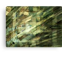 Techno Luminescence Canvas Print