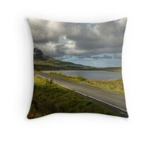 Road to Skye Throw Pillow