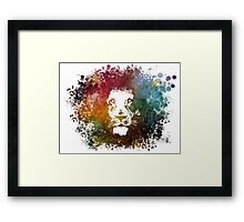 King Lion Framed Print